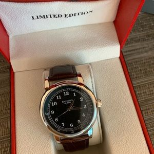 EM sport 5127 new leather brown wristband.